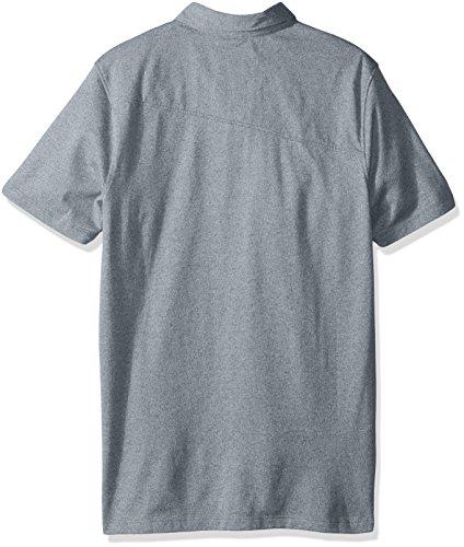 Volcom Herren Polo Hemd Wowzer Polo-shirt Herren Blau Ash Blue