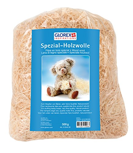 Glorex 0 2544 50 - Holzwolle, 500 g