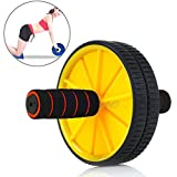 #5: Aurion AB777 Plastic Ab Wheel with Free Mat (Yellow/Blue/Green)