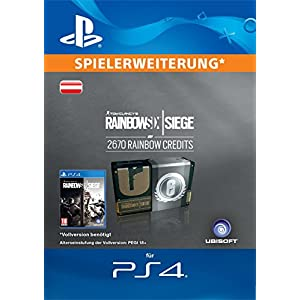 Tom Clancy's Rainbow Six Siege Currency pack 2670 Rainbow credits  [PS4 Download Code – österreichisches Konto]