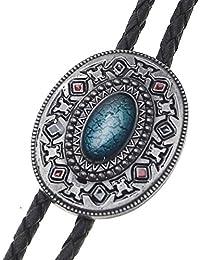 Bolotie Azteken Tribal, Indianer Muster, Bolo Tie, Western Krawatte
