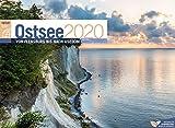 Ostsee ReiseLust 2020, Wandkalender im Querformat (45x33 cm) - Natur- und Reisekalender Deutsche Küste und Meer mit Monatskalendarium