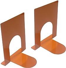 """A10 Shop Zeta Metal Bookends, Size -5""""x7"""", Heavy Gauge Steel- Set of 2"""