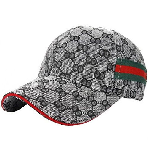 36dbe2b02b4 Ukerdo Outdoor Sport Fitted Hats for Men Baseball Cap Accessories (A)