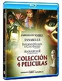 Pack Conjuring: Annabelle 1 + 2 + Expediente Warren 1 + 2 Blu-Ray [Blu-ray]