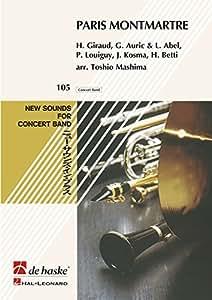 Paris Montmartre - Concert Band/Harmonie - SET