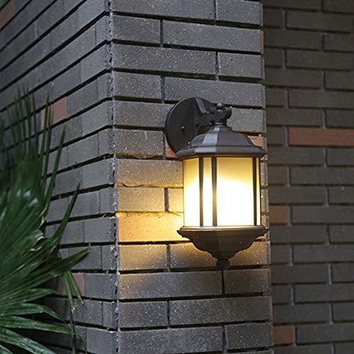 Yikuo LED-Außenwand/Wasserkorridoren Lichter/Balkon/Gang/Home/Europäische Retro/Outdoor-Eisen-Wand / 140 * 235 * 400mm / E27 * 1 Elegant und schön - Wand-lampen-schnur-abdeckungen