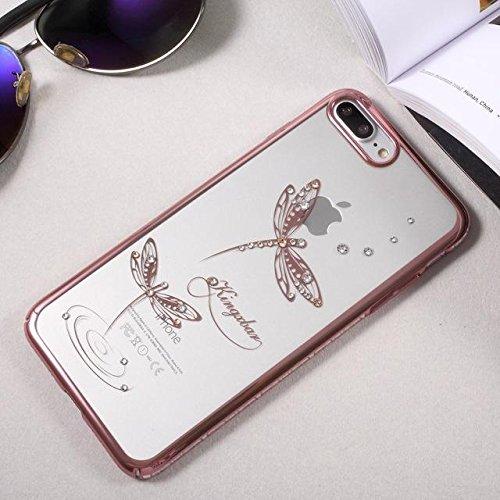 Belle plume Case diamant PC pour iPhone 7 plus b