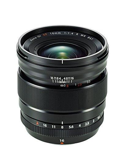 Fujifilm FUJINON XF16mmF1.4 R WR Obiettivo 16mm, f/1.4,...