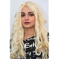 Diva de la peluca de la peluca RUBIA dinamita para mujer