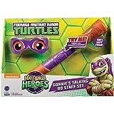 Teenage Mutant Ninja Turtles media concha Héroes Donatello Armas suaves y Bandana Electronic Set Juegos de rol
