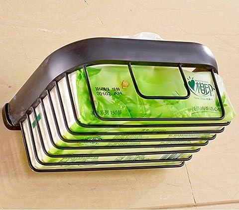 TougMoo modernes Badezimmer Zubehör Produkte massiv Messing verchromt fertigen Ecke Glasregal Gb012G-3, Schwarz