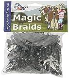 Harry's Horse Mähnengummis ca. 500 Stück im Beutel schwarz