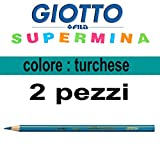 Pastel Giotto supermina Turquoise N.24de 3,8mm Giotto supermina vrac