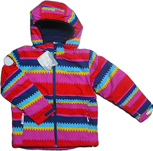Color Kids. Gelting Softshell, Ski-Jacke mit Fleecefutter . Air-flo 8000. Chinese red, 102196-455, Gr.10 140/146