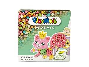 PlayMais 160.361 Mosaico Craft Kit Sueño Gatito, 2300 Piezas