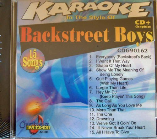 Pro Artist: Backstreet Boys by Backstreet Boys (Backstreet Boys Karaoke-cds)