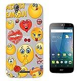 C0216 - Adult Cool Smiley Faces Emoji Funky Design Acer