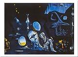 Buyartforless Idylle Atomique von Salvador Dali 16x 20Kunstdruck Poster