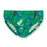 Sterntaler Kinder Jungen Badehose, UV-Schutz 50+, Alter: 4-6 Jahren, Größe: 110/116, Blau/Grün (Pfefferminz)