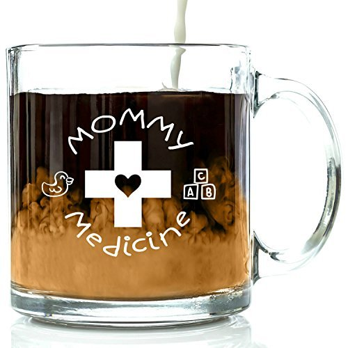 mommy-medicine-funny-novelty-glass-coffee-mug-13-ounces-by-got-me-tipsy