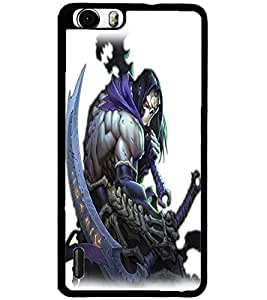ColourCraft The Demon Design Back Case Cover for HUAWEI HONOR 6