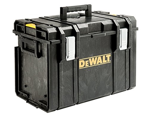 DeWalt Tough Box Werkzeugbox/Werkzeugkiste (sehr geräumige, stabile und tiefe Werkzeugbox für große Elektrowerkzeuge, IP65 - staubdicht und spritzwassergeschützt, bis 50kg Traglast), DS400 1 Schubladen Werkzeug Kiste