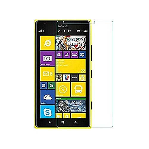 Moarmouz Go - Tempered Glass For Lumia 730 Tempered Glass Screen Protector With 9H Hardness And Easy Bubble-Free Installation Premium Tempered Glass