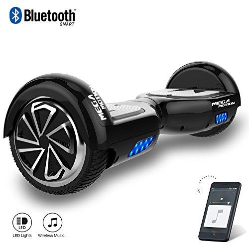"Kategorie <b>Zweirad E-Board (Hoverboard) </b> - Mega Motion Elektro Scooter E1-6,5"" Segway - Bluetooth - EU Sicherheitstandard"
