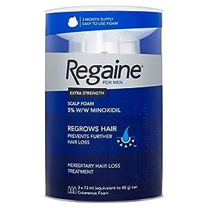 Regaine For Men Hair Regrowth Foam 3x 73 ml - Three Months Supply