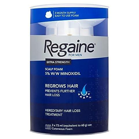 Regaine For Men Hair Regrowth Foam, 73 ml - Triple