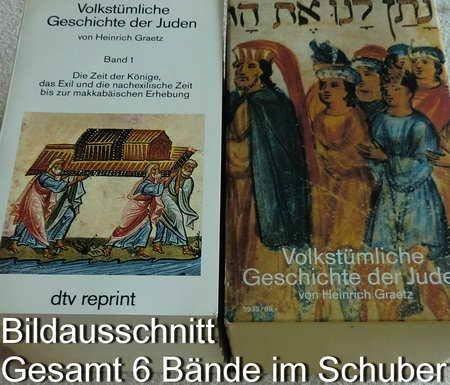 Volkstümliche Geschichten der Juden (dtv Kassettenausgaben)