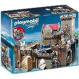 Playmobil Knights Royal Lion Knight`s Castle Niño juego de construcción - juegos de construcción (Multicolor, 4 año(s), Niño, 10 año(s), 6003, 6160, 56 cm)