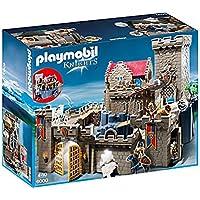 Playmobil Knights Royal Lion Knight`s Castle Juego de Construcción - Juguetes de Construcción (Juego de Construcción, Multicolor, 4 Año(s), Niño, 10 Año(s), 6003, 6160)