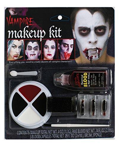 Horror-Shop Vampir Make Up Family Set 11-teiliges Halloween Schmink-Set