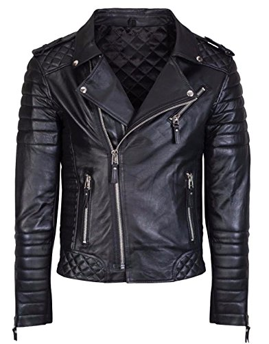 Bomber Rider Biker Slim Fit Casual Stylish Real Leather Jacket A900