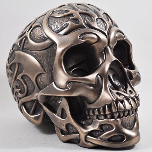 tribal-skull-in-bronze-h19cm-by-design-clinic