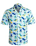 Best Shirts For Travel For Men - APTRO Men's Shirt Short Sleeve Party Aloha Hawaiian Review