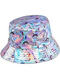 61eb057f Best Fancy Dress BFD One Bucket Hat Shiny Holographic Or Sequin Or Cotton  Printed Bucket Hat