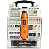 VonHaus 135W Rotary Multitool with 232pc Accessory Kit - Dremel Compatible | Variable