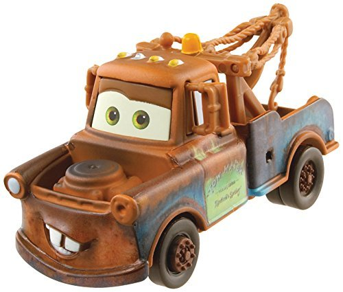 Disney/Pixar Cars, 2015 Radiator Springs Die-Cast Vehicle, Mater #1/19, 1:55 Scale, Model: CDP24, Toys & Gaems