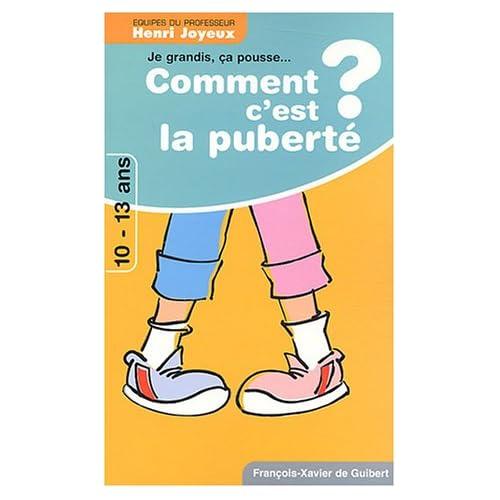 Comment c'est la puberté ? Dialogue avec les 10-13 ans
