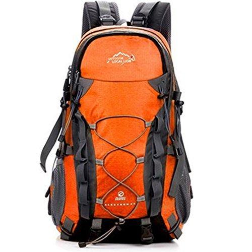 Imagen de erwaa 40l  de senderismo deportes al aire libre multifunción bolsa impermeable ciclismo montaña excursionismo alpinismo trekking viajes campamento para unisex alternativa
