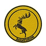 Cobra Tactical Solutions Military Patch Game of Thrones Baratheon avec Fermeture...