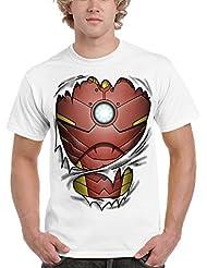 Camiseta Iron Man - Billionaire Uniform (Fuacka)
