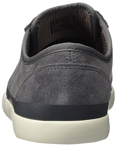 Clarks Herren Torbay Rand Sneaker Grau (Grey Suede)