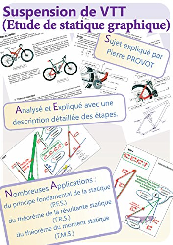 Suspension de VTT (Etude de statique graphique): Sujet expliqué par Pierre PROVOT par Pierre PROVOT