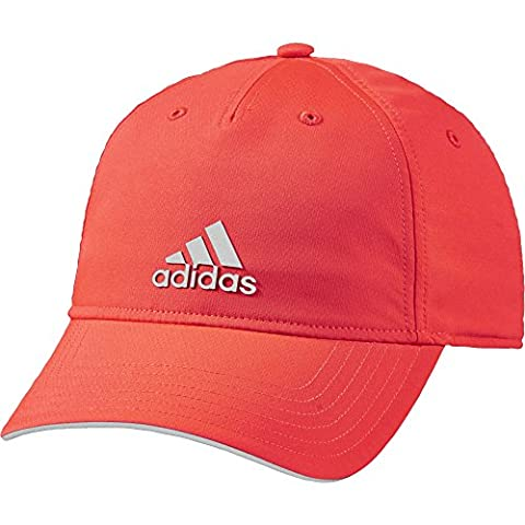 Adidas Casquette Climalite, Mixte, Cap Climalite, Solar Red/Mgh Solid Grey
