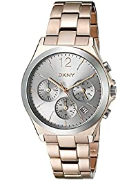 DKNY Parsons Analog Silver Dial Women's Watch - NY2453