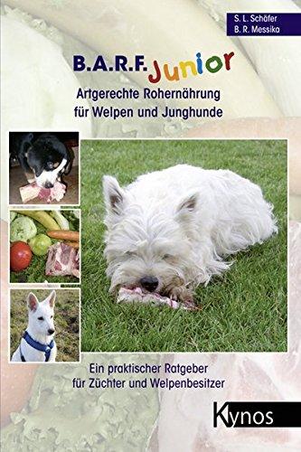 hundeinfo24.de B.A.R.F. Junior – Artgerechte Rohernährung für Welpen und Junghunde: Ein praktischer Ratgeber für Züchter und Welpenbesitzer (Das besondere Hundebuch)